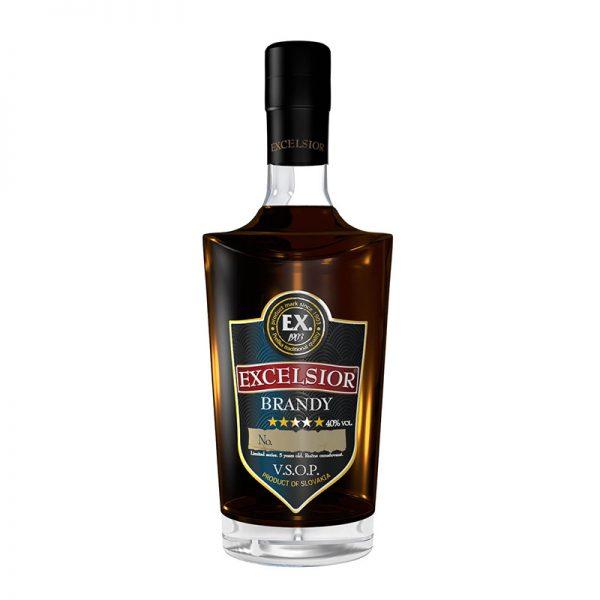 Excelsior Brandy 40% 0,7 l Prelika