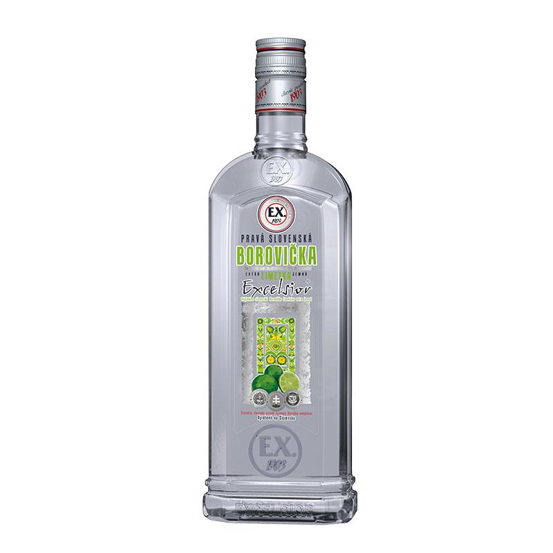 Borovička EX Limetka 37,5% 0,7 l Prelika