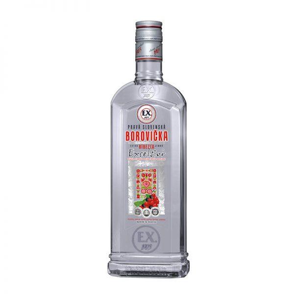 Borovička EX Ríbezľa 37,5% 0,7 l Prelika