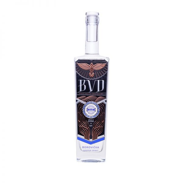BVD Borovička 0,5 l 40%
