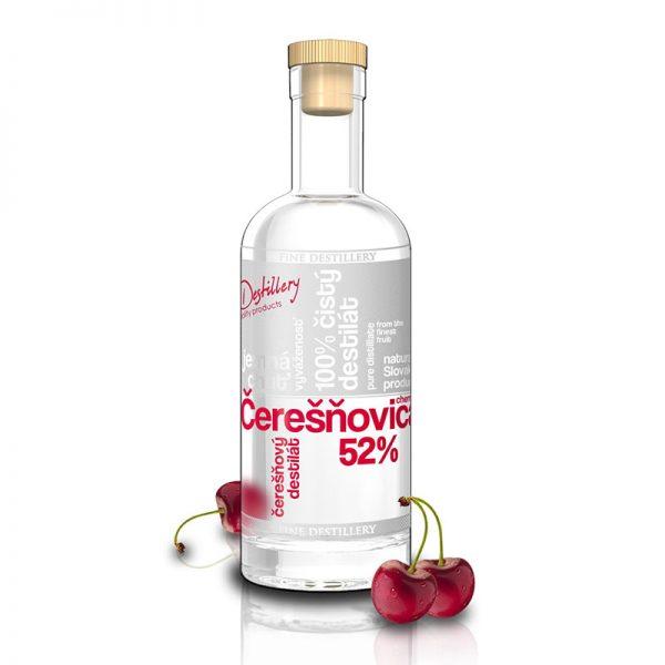 Fine Destillery Čerešňovica exclusive 0,5 l 52%