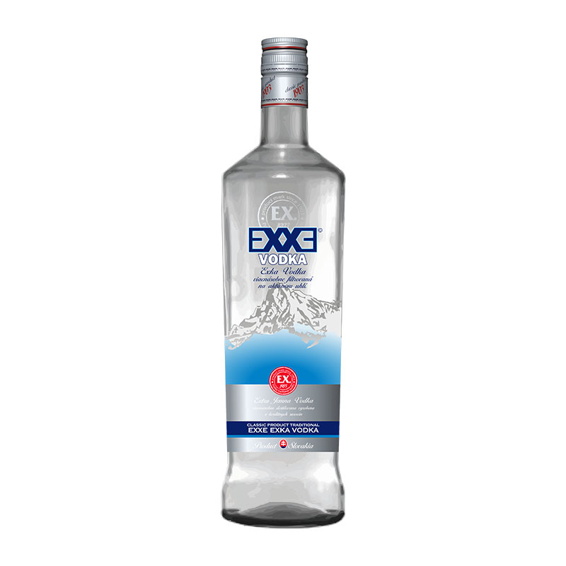 EXXE Vodka 38% 0,7 l Prelika