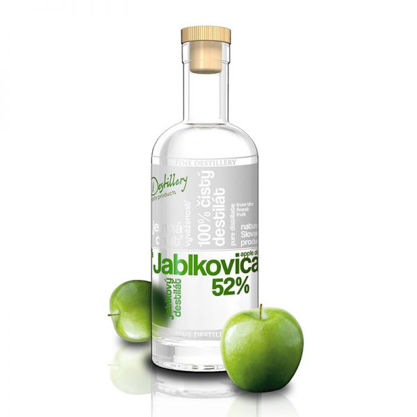 Fine Destillery Jablkovica exclusive 0,5 l 52%