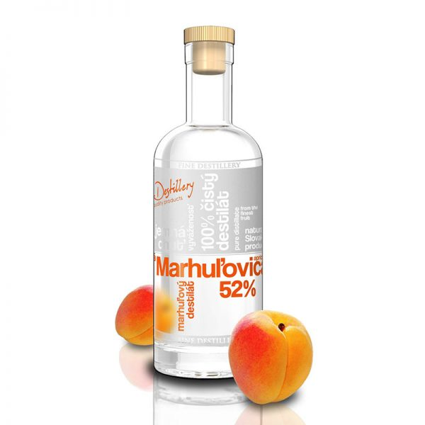 Fine Destillery Marhuľovica exclusive 0,5 l 52%