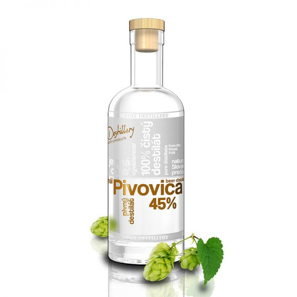 Fine Destillery Pivovica exclusive 0,5 l 45%