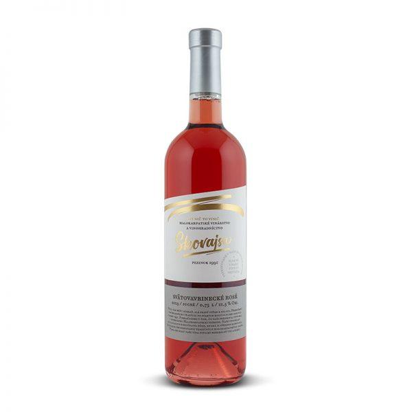 Vino Skovajsa Svätovavrinecké rosé 0,75 l
