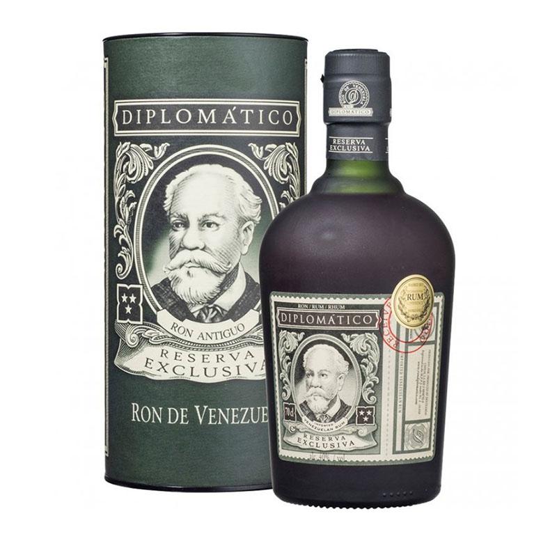 Diplomático Rum Reserva Exclusiva 12y 40 % 0,7 l Tuba