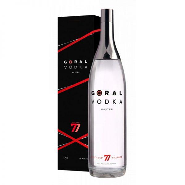 Goral Vodka MASTER 40% 1,75 l v kartóniku GAS Familia