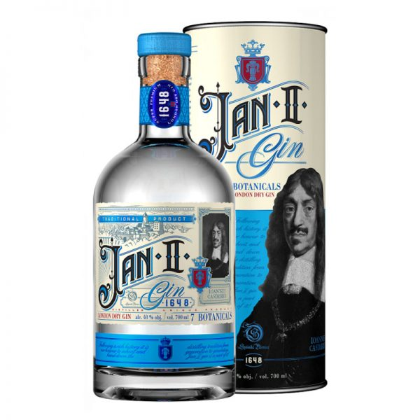 Jan II Gin London dry 40% 0,7 l Tuba Noblemen Collection