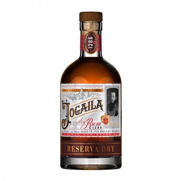 Jogaila Rum dry 38 % 0,7 l Noblemen Collection