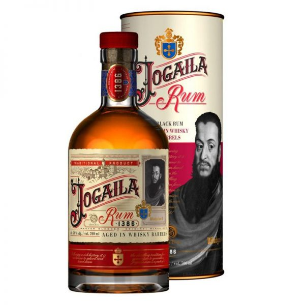 Jogaila Rum Black 38 % 0,7 l Tuba Noblemen Collection