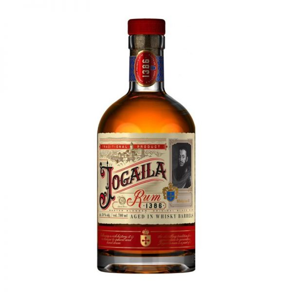 Jogaila Rum Black 38 % 0,7 l Noblemen Collection