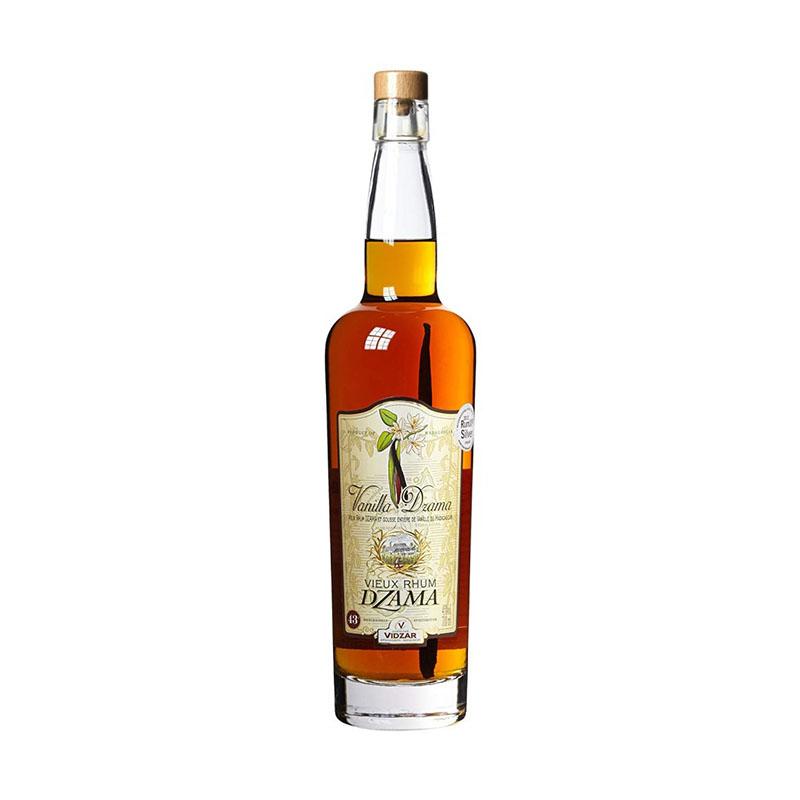 Dzama Rum Vanilla 3 ans 43 % 0,7 l Struk Vanilky