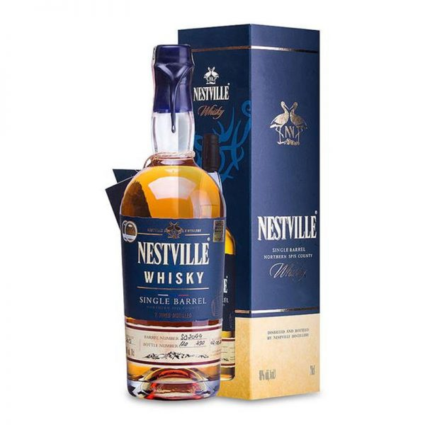Whisky Nestville Single Barrel 40% 0,7L v kartóniku