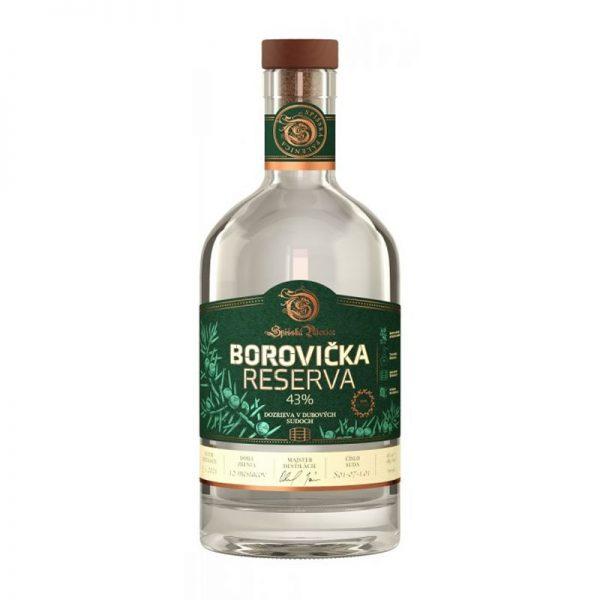 Borovička RESERVA 43 % 0,7 l Spišská Pálenica GAS Familia