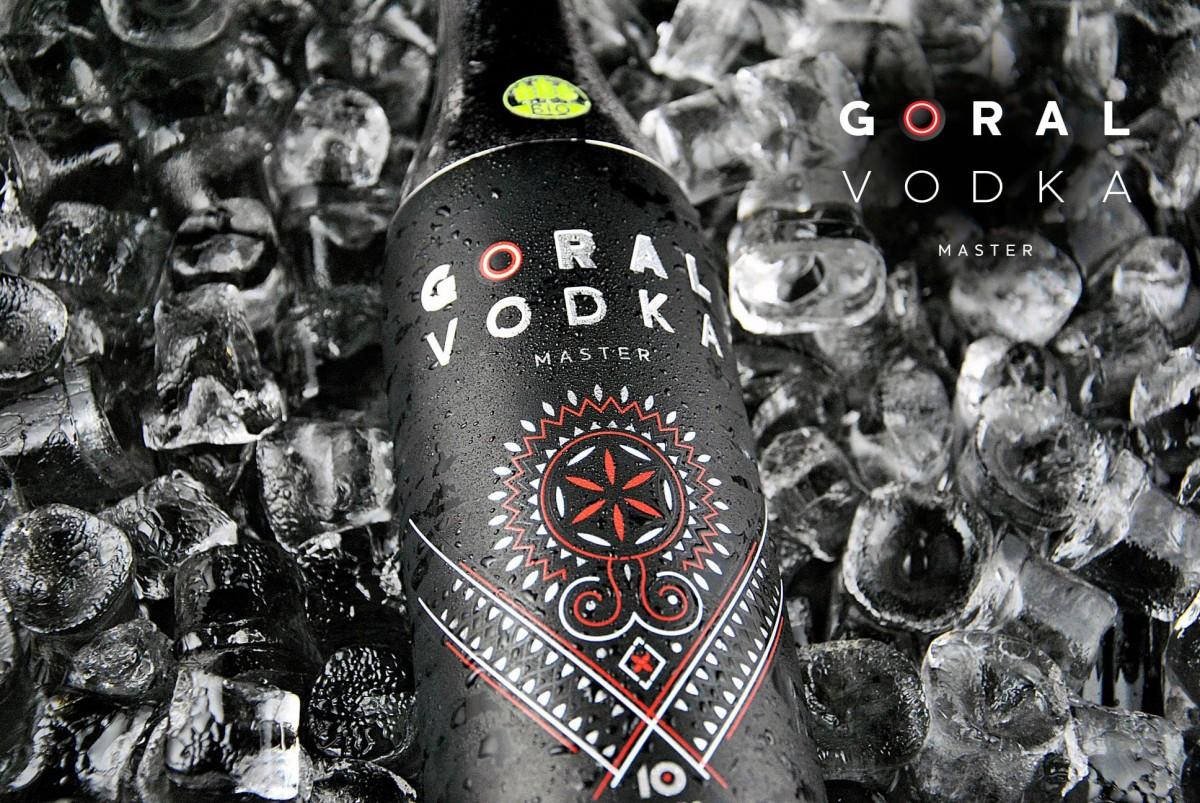 Goral Vodka MASTER BIO 40% 0,7 l