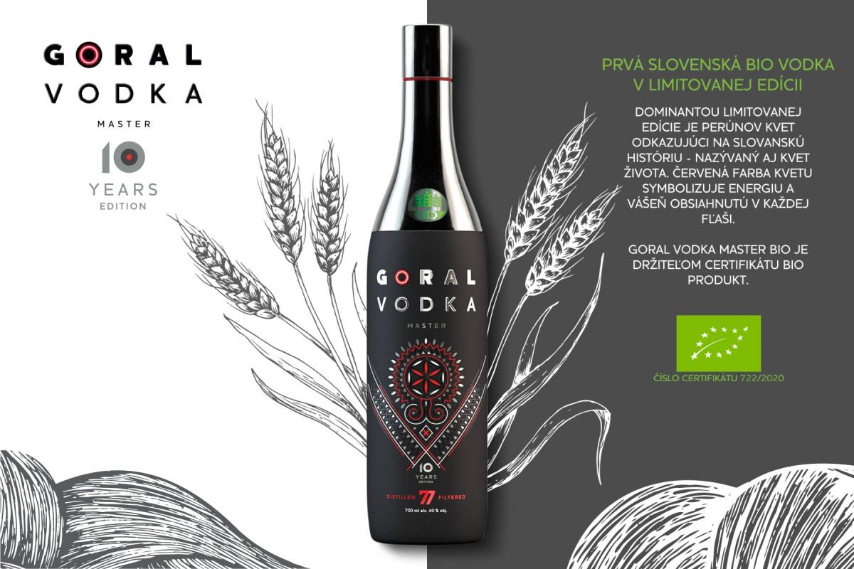 Goral Vodka MASTER BIO 40% 0,7 l Gas Familia