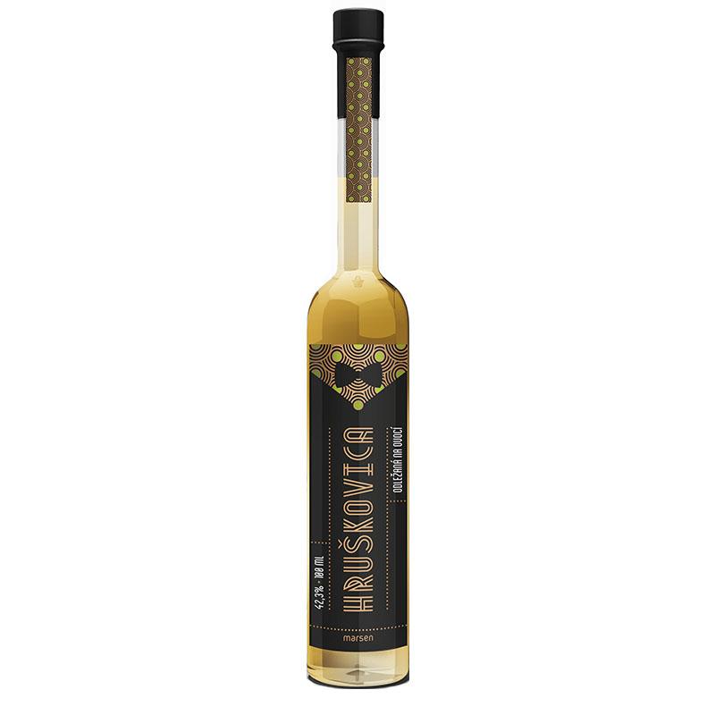 Hruškovica 42,3% 0,5 l destilát odležaný na ovocí Marsen