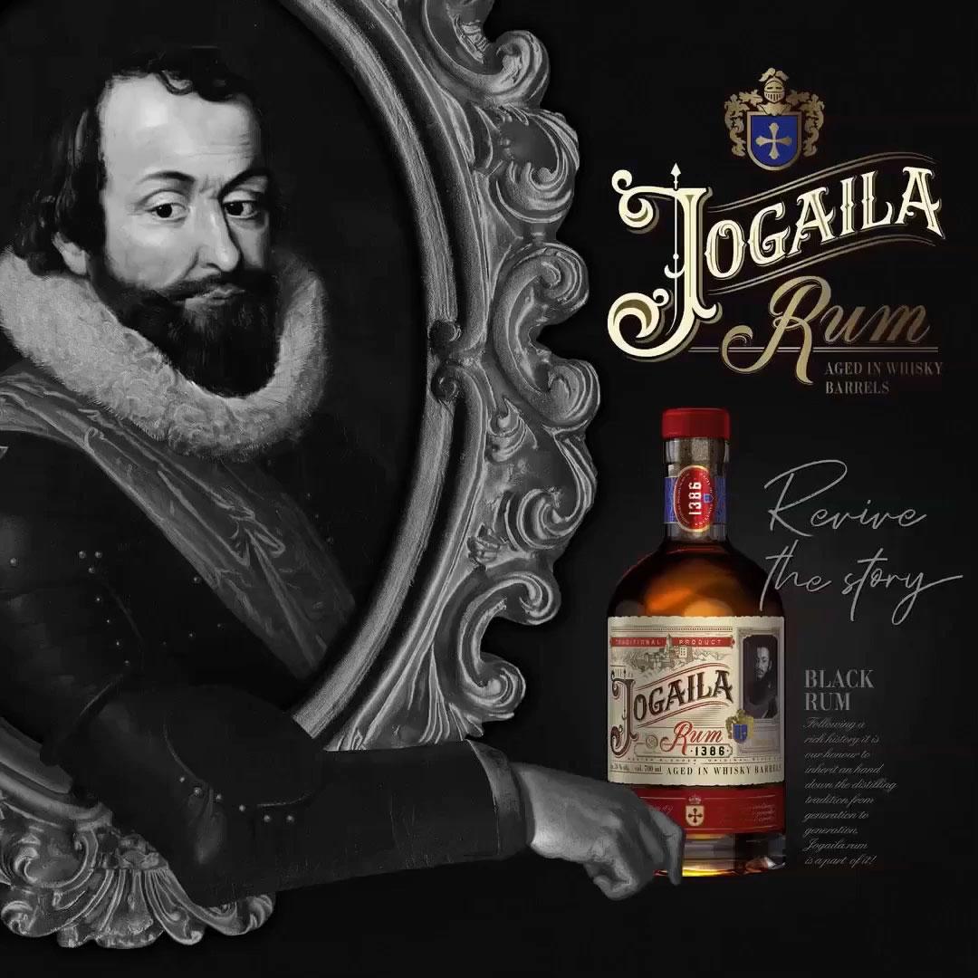 Jogaila Rum dry 38 % 0,7 l Noblemen Collection